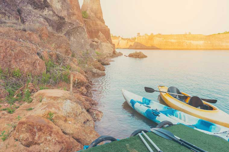 Kayak Rentals at Roosevelt Lake Marina