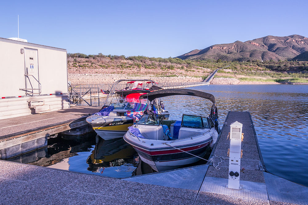 Boat Moorage Lake Roosevelt
