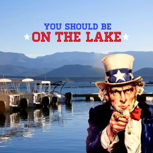 You Should be on the Lake - Roosevelt Lake
