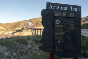 Roosevelt Lake Marina Hiking - Arizona Trail