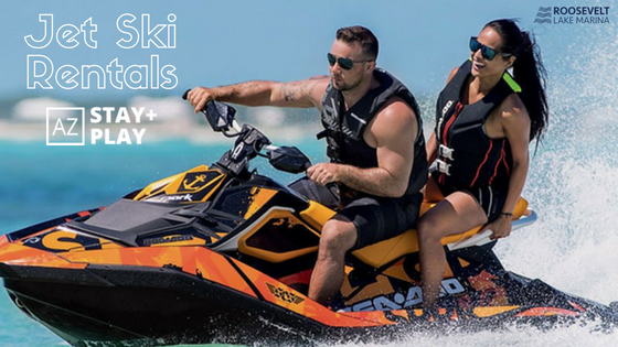 Jet Ski Rentals Available Through AZ Stay + Play
